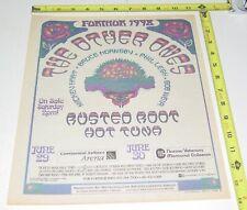 The Other Ones Concert Ad Advert 1998 Tour Continental Nassau Grateful Dead