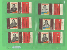 #T69. 1975 BRISBANE BRL RUGBY LEAGUE  MATCHBOXES - 38 of 42