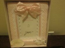 "Baby Girl's Pink & White 4"" X 6"" Photo Frame New"