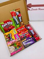 Sweets Heaven Branded American Candy Selection Gift Box (11 Items Gift Hamper)