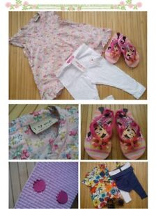 77x SUMMER NEW USED BUNDLE OUTFITS GIRL CLOTHES 2/3 YRS(9)