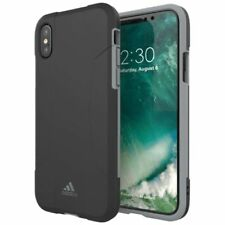 Adidas Originals Dual Layer Case für Apple iPhone X / XS Schutzhülle Tasche Grau