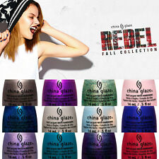 China Glaze Nail Polish Lacquer Rebel Collection 2016 12 bottles