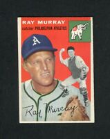 1954 Topps #49 Ray Murray EX-MT (Athletics) FREE SHIPPING ON $20+ *GCC*