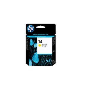 Original Druckkopf HP 14 C4923A gelb OfficeJet 7110 xi 7310 7410 D125 D145 o.V.