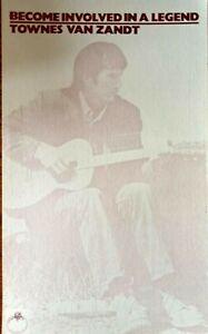 Townes Van Zandt - 1970's Promo Only Note Paper.