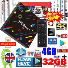 H96 Max H2 4GB+32GB Smart TV Box Quad Core Android 7.1 Dual WIFI 4K Ultra HD KD