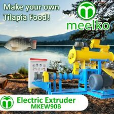 ELECTRIC EXTRUDER TO MAKE YOUR OWN TILAPIA FISH FOOD - MKEW090B (FREE SHIPPING)