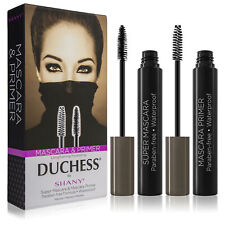 DUCHESS by SHANY 2-Piece Waterproof Mascara Set with Paraben-Free Formula