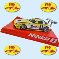 SLOT CAR NINCO 55093 MERCEDES BLACK FALCON ABU DABI SCALE 1:32 FREE SHIPPING