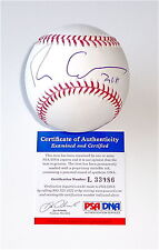FRANCIS FORD COPPOLA THE GODFATHER SIGNED MAJOR LEAGUE BASEBALL PSA L33086