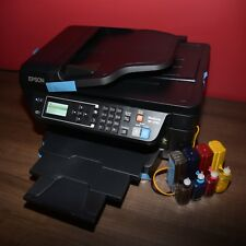 Epson WorkForce WF-2750 Sublimation printer + Sublimation CISS for heat press