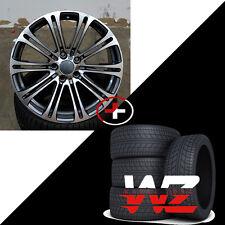 20 Style 220 Wheels fits BMW 3 4 5 6 7 Series M3 M5 Gunmetal Machined w Tires