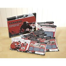 Parkour Resource Pack PE National Curriculum Key Stage 3 and 4 with DVD & Cards
