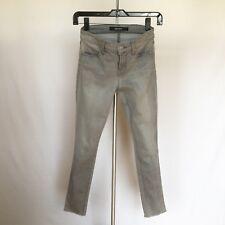 J Brand Jeans Super Skinny Gray Denim Sz 24 $198