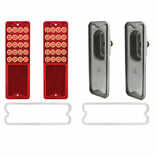 1967-1972 Chevy C10 Pick up Tail Lights PAIR Sequential LED Fleetside Brake Set