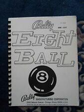 Bally Eight Ball Repair Manual From 1977 w/ Schematics .pdf  ENGLISH Pinball