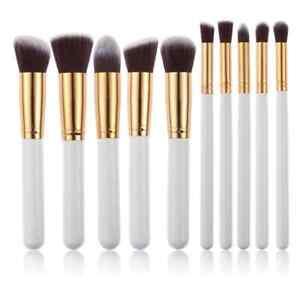 10 Pieces Makeup brushes blush powder brush holder soft brush Set Choice
