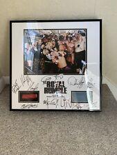 WWE royal rumble 2008 Plaque Signed Autographed Wrestling WWF COA CENA PUNK MIZ