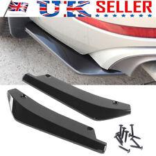 2x Universal Car Rear Bumper Lip Splitter Diffuser Chin Spoiler Canard Protector