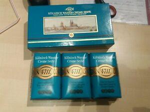 Creme Seife 4711 Kölnisch Wasser - Seife 3x 100g - unbenutzt in OVP