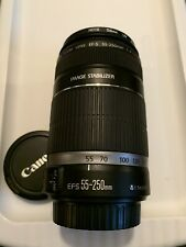 cannon ef-s 55-250 lens