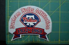 YOUR CHOICE: Durham Bulls Throwback Major League Baseball Affiliate Jersey Patch