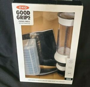 Good Grips Cookie Press With 12 Disks And Storage Case