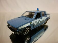 MEBETOYS A136 ALFA ROMEO GIULIETTA - POLIZIA - BLUE 1:43 - GOOD CONDITION