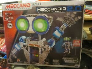 NEW Meccano Meccanoid 2.0 Robot Building Kit STEM Engineering Education
