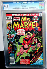 Ms. Marvel #1 1st Carol Danvers as Ms. Marvel CGC NM+ 9.6 White Pages 1222933001