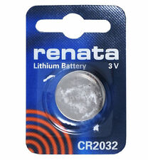 Renata Lithium Watch Coin Cell Batteries Cr2025