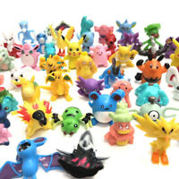144ps/set PVC Toy Mini Figures Monster Animation Model Collection Gift 2-3cm New
