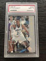 1995 SP Rookie #159 Kevin Garnett Minnesota Timberwolves PSA 9
