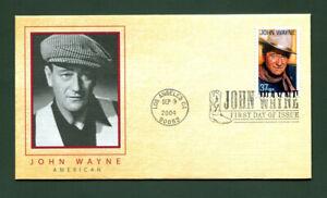 Sc. 3876 John Wayne - Legends of Hollywood FDC - Fleetwood 2