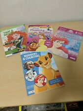 Learning Activity School Disney Princess Counting Reading Workbooks Lot Of 4