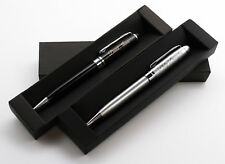 Personalized Executive Metal Ballpoint Pen + Gift Box   Custom Bespoke Engraved