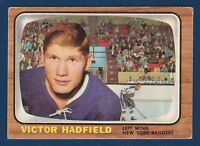 VICTOR HADFIELD  66-67 TOPPS 1966-67  NO 86 EX   0930