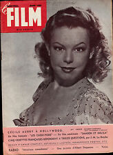Le Film Montreal Magazine March 1950 Cecile Aubry Claudette Colbert