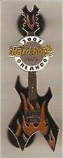 Hard Rock Hotel ORLANDO 2007 SUMMER HEAT GUITAR PIN Black BC RICH WARLOCK #37979