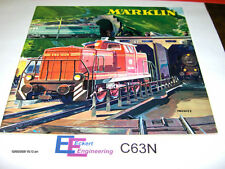 EE 1963/64 C63N NEW Marklin HO Catalog 1963 / 1964