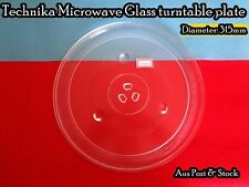 Technika Microwave Oven Spare Part Glass Turntable Plate Platter (W15) Brand New