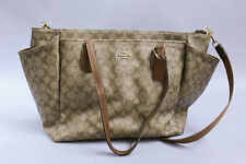 Coach Women's Baby Bag in Signature Canvas GG8 Brown F35414