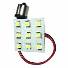 HQRP BA15s 9 LEDs SMD Blanco Bombilla Reemplazo para 1141 1156 RV Luz Interior