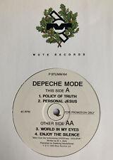 "DEPECHE MODE -VIOLATOR SAMPLER- Very Rare UK Promo 12"" EP P STUMM 64 (Vinyl)"