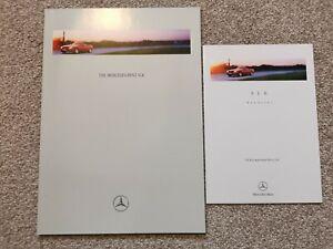 Mercedes-Benz SLK 230 Kompressor Roadster UK Brochure 1996-1997 +Price List