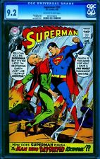 Superman 205 CGC 9.2 -- 1968 -- Black Zero. Neal Adams cover. #0913516016