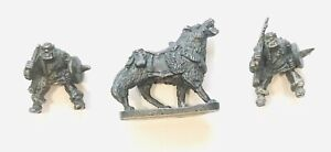 Chronicle N15 Orc Wolf Elf Catcher with 2 X Mangle Rider, Nick Lund, Oldhammer.