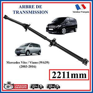 Arbre de transmission pour Mercedes Vito Viano W639 - 2211MM = A6394103206