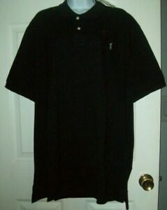 Polo Ralph Lauren Classic Fit Mesh Polo Shirt Black - Size XXL - NEW WITH TAGS